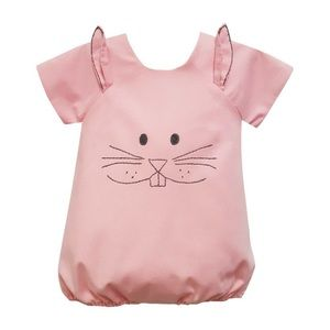Isabel Garreton Baby Girl Pink Bunny Bubble